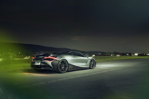5k Rear Novitec McLaren 720S Spider 2019 Wallpaper