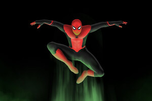 5k Spiderman Above