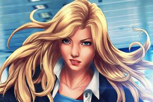 5k Supergirl