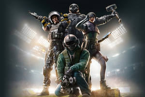 5k Tom Clancys Rainbow Six Siege Game Wallpaper