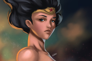 5k Wonderwoman Wallpaper