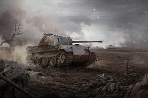 5k World Of Tanks Wallpaper