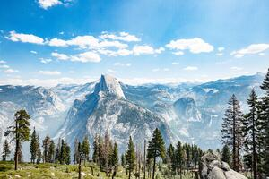 5k Yosemite National Park Great View Wallpaper