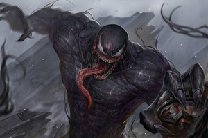 5kvenom Art Wallpaper