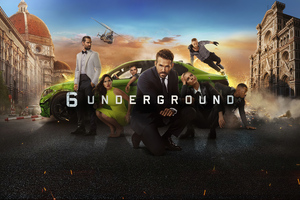 6 Underground 4k Movie Wallpaper