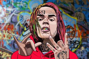 6ix9ine 4k 2020 Wallpaper