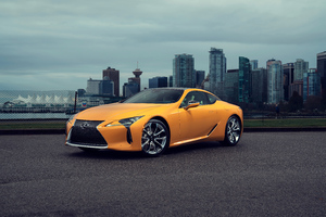 8k 2019 Lexus LC 500 Wallpaper