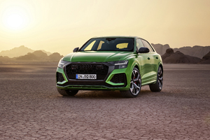 8k Audi RS Q8 2020 Wallpaper