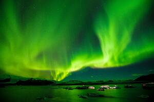 8k Aurora Borealis