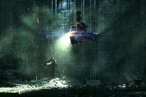 8k Batman Arkham Knight
