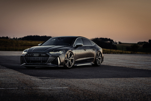 8k Black Box Richter Audi RS 7 Sportback 2020 Wallpaper