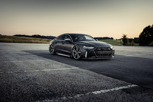 8k Black Box Richter Audi RS 7 Sportback Wallpaper