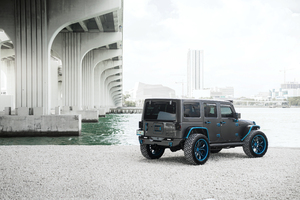 8k Jeep Wrangler Wallpaper