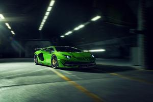8k Novitec Lamborghini Aventador SVJ 2019 Wallpaper