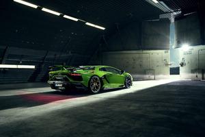 8k Novitec Lamborghini Aventador SVJ 2019 Car Wallpaper