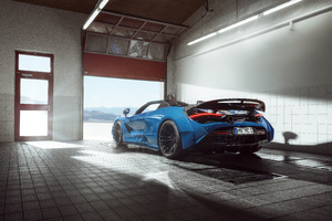 8k Novitec McLaren 720S Spider N Largo 2020 Wallpaper