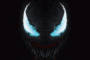 8k Venom Wallpaper