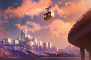 9th Street Cable Car Wallpaper