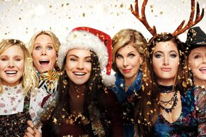 A Bad Moms Christmas 2017 5K Wallpaper