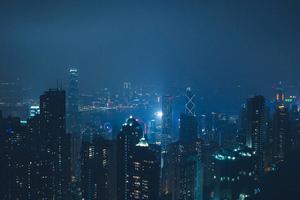 A City At Night 4k Wallpaper