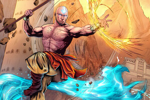 Aang Avatar Artwork 5k