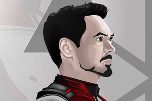 Aavengers Endgame Tony Stark Wallpaper