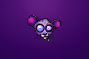Abandoned Mouse Artistic Art 4k