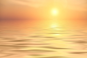 Abendstimmung Calm Sea Sunset 5k Wallpaper