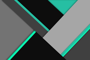 Absract Black Green 8k Wallpaper