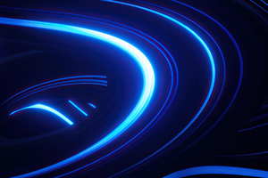 Abstract Blue Colorful 4k Wallpaper