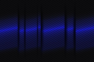 Abstract Blue Gradient Lines 3d Wallpaper