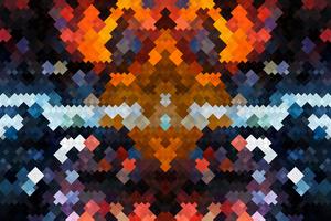 Abstract Bricks 4k Wallpaper