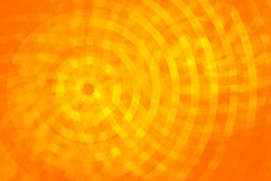 Abstract Circle Orange Rings Wallpaper