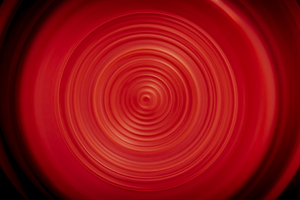 Abstract Circle Red 4k