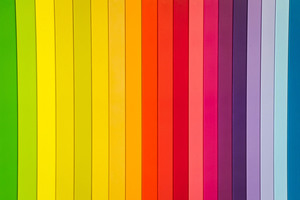 Abstract Color Strips