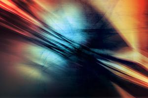 Abstract Color Vignette Wallpaper