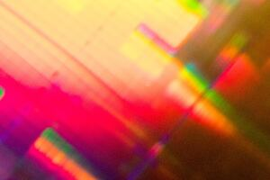 Abstract Colorful Bokeh Pattern
