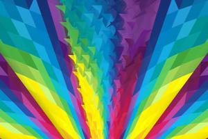 Abstract Colorful Grafiti 4k
