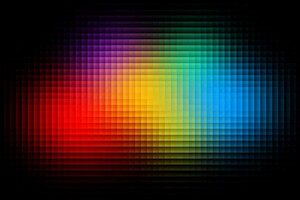 Abstract Colorful Texture Square Wallpaper