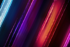 Abstract Colors Burning 4k