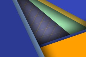Abstract Colors Geometry Wallpaper