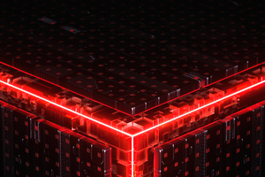Abstract Cube Building 5k Wallpaper
