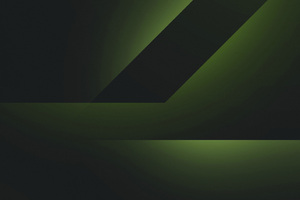 Abstract Dark Green 4k