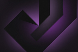 Abstract Dark Purple 4k