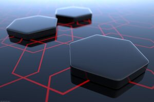 Abstract Hexagon 3d Wallpaper