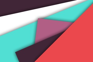 Abstract Minimalist Colors Shapes