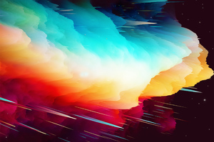 Abstract Nebula Wallpaper