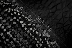 Abstract Polygon 3d Grid Art Wallpaper