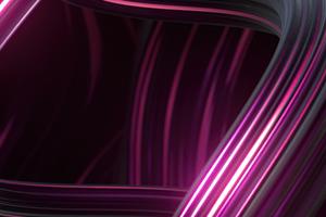 Abstract Purple Lines Art 4k Wallpaper