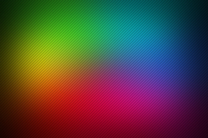 Abstract Rainbow Lines Hd Wallpaper